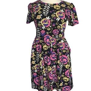 LuLaRoe Amelia Dress 2xl Floral